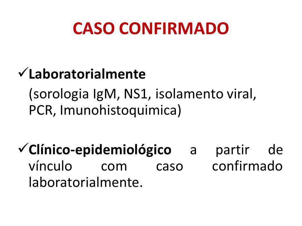 CASO CONFIRMADO Laboratorialmente