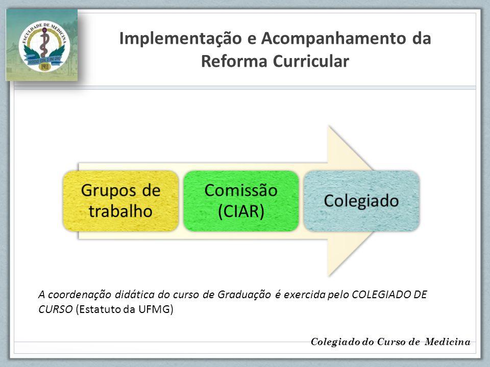 Implementação e Acompanhamento da Reforma Curricular
