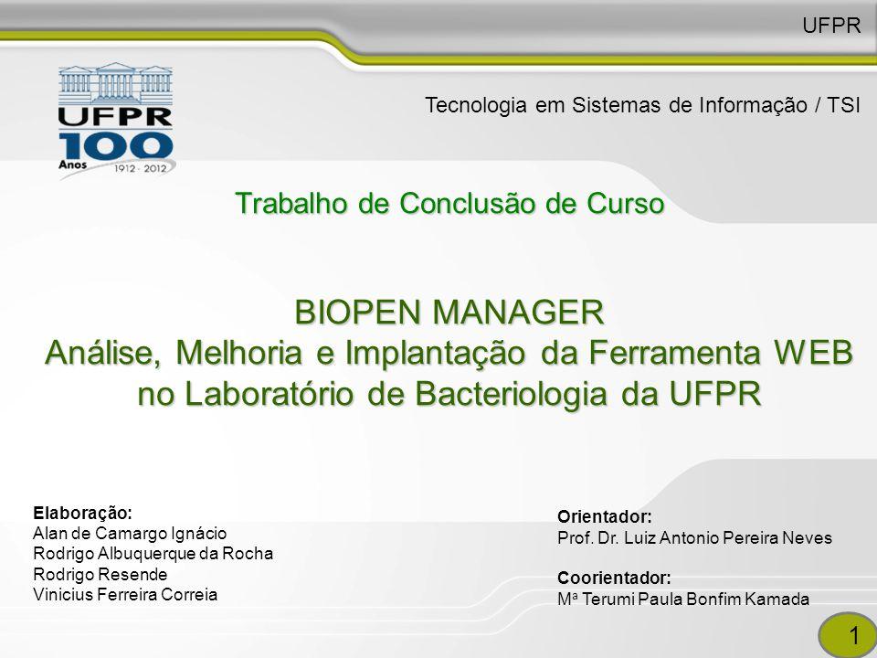 UFPR Tecnologia em Sistemas de Informação / TSI.