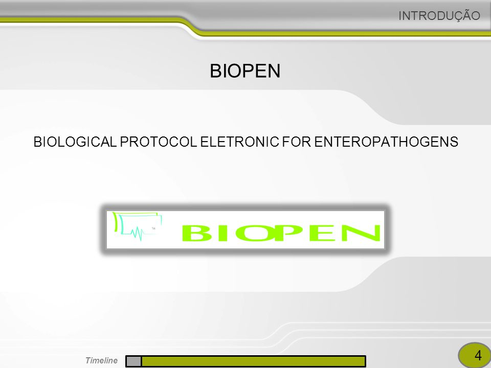 BIOLOGICAL PROTOCOL ELETRONIC FOR ENTEROPATHOGENS