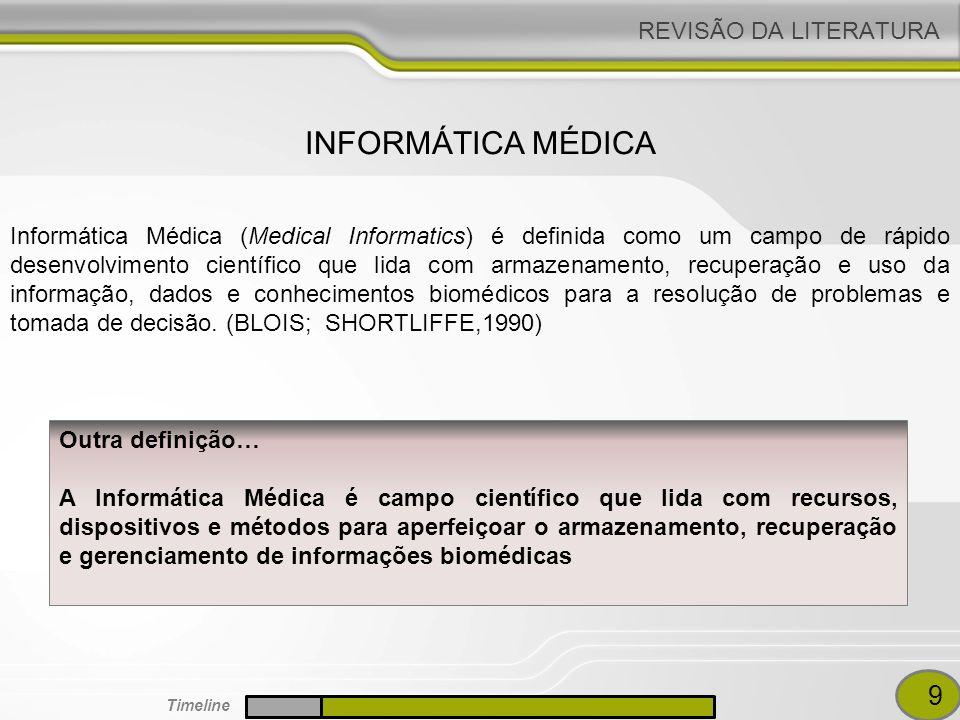 INFORMÁTICA MÉDICA 9 REVISÃO DA LITERATURA