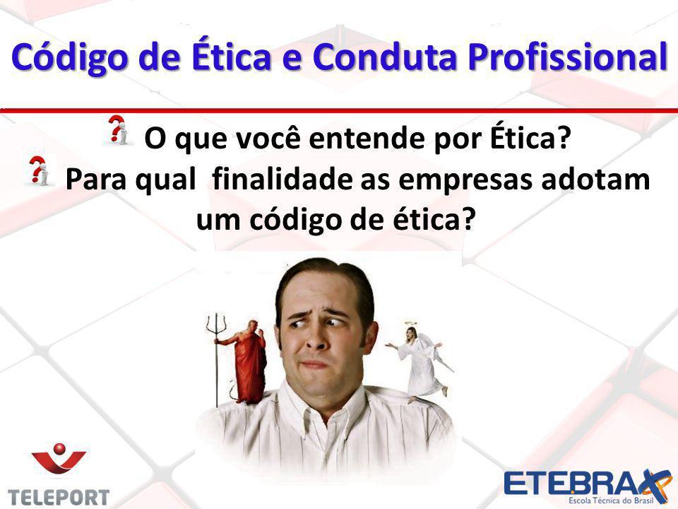 Código de Ética e Conduta Profissional