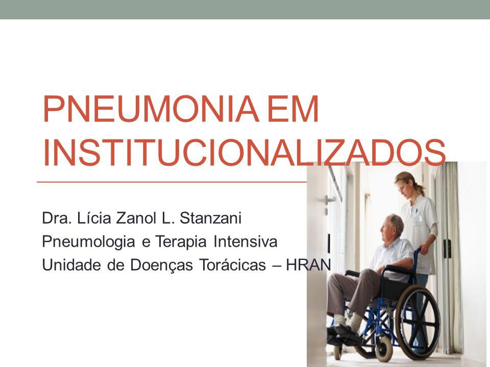 Pneumonia em institucionalizados