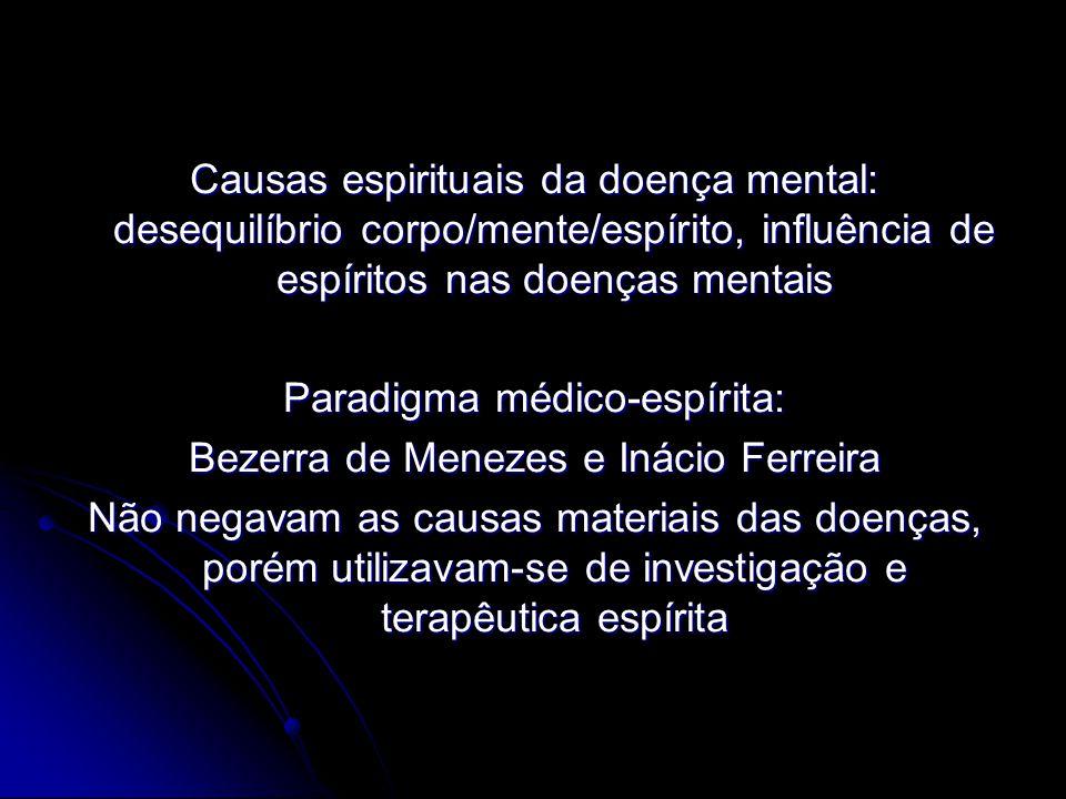 Paradigma médico-espírita: Bezerra de Menezes e Inácio Ferreira