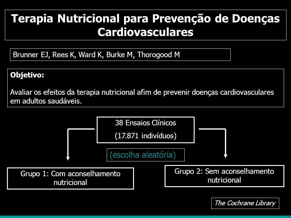 Terapia Nutricional para Prevenção de Doenças Cardiovasculares