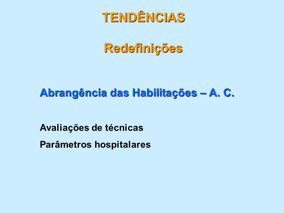 TENDÊNCIAS Redefinições