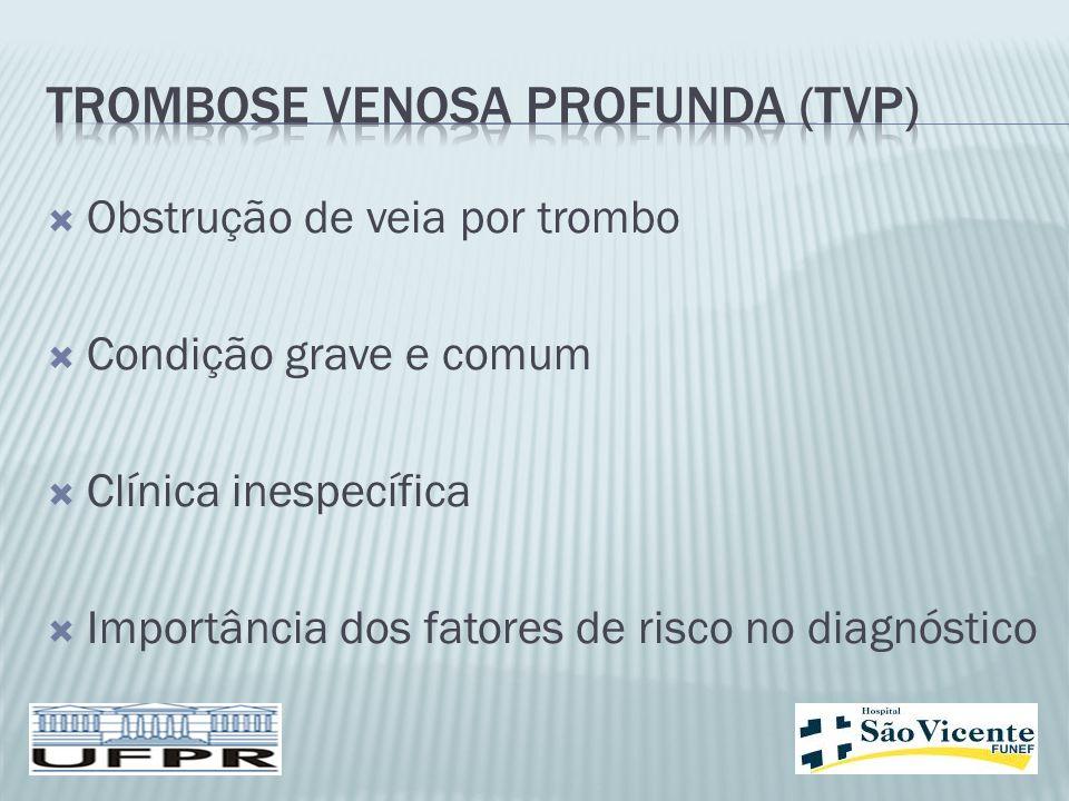 Trombose venosa profunda (TVP)
