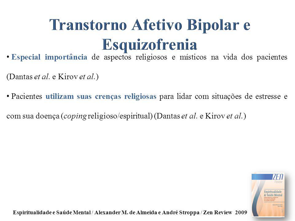 Transtorno Afetivo Bipolar e Esquizofrenia
