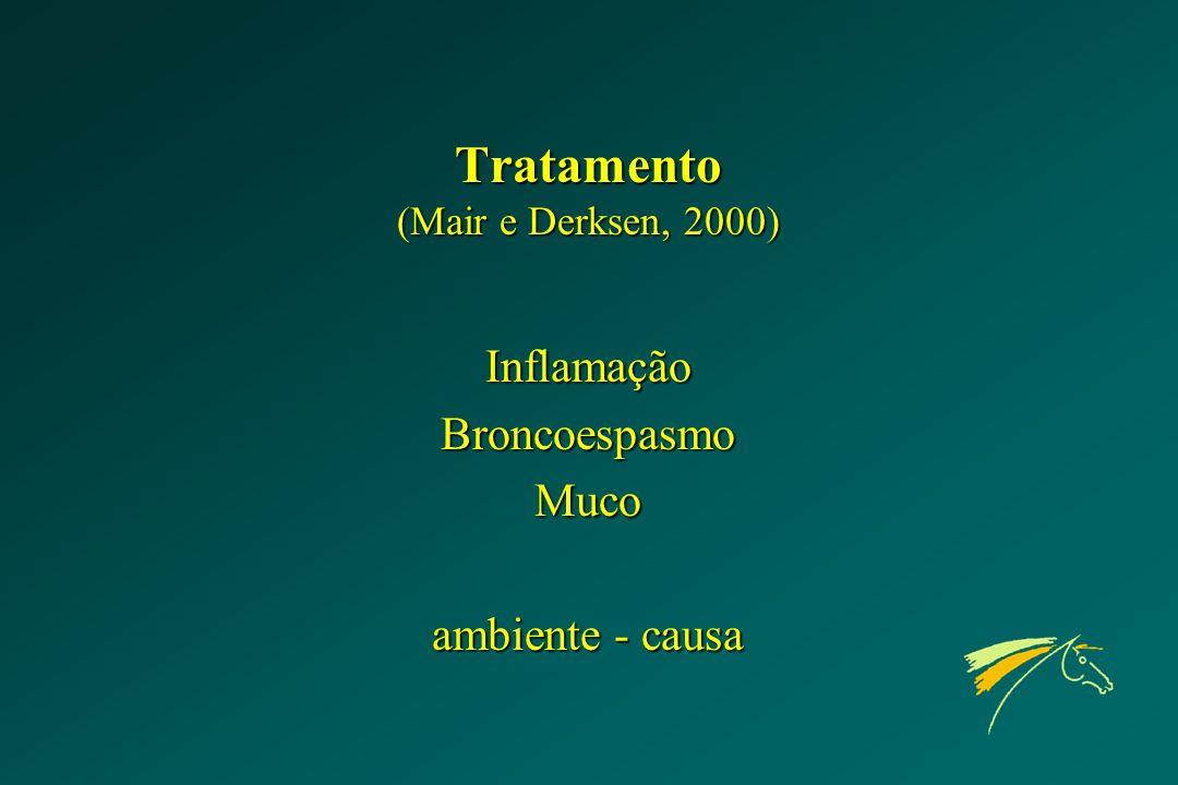 Tratamento (Mair e Derksen, 2000)
