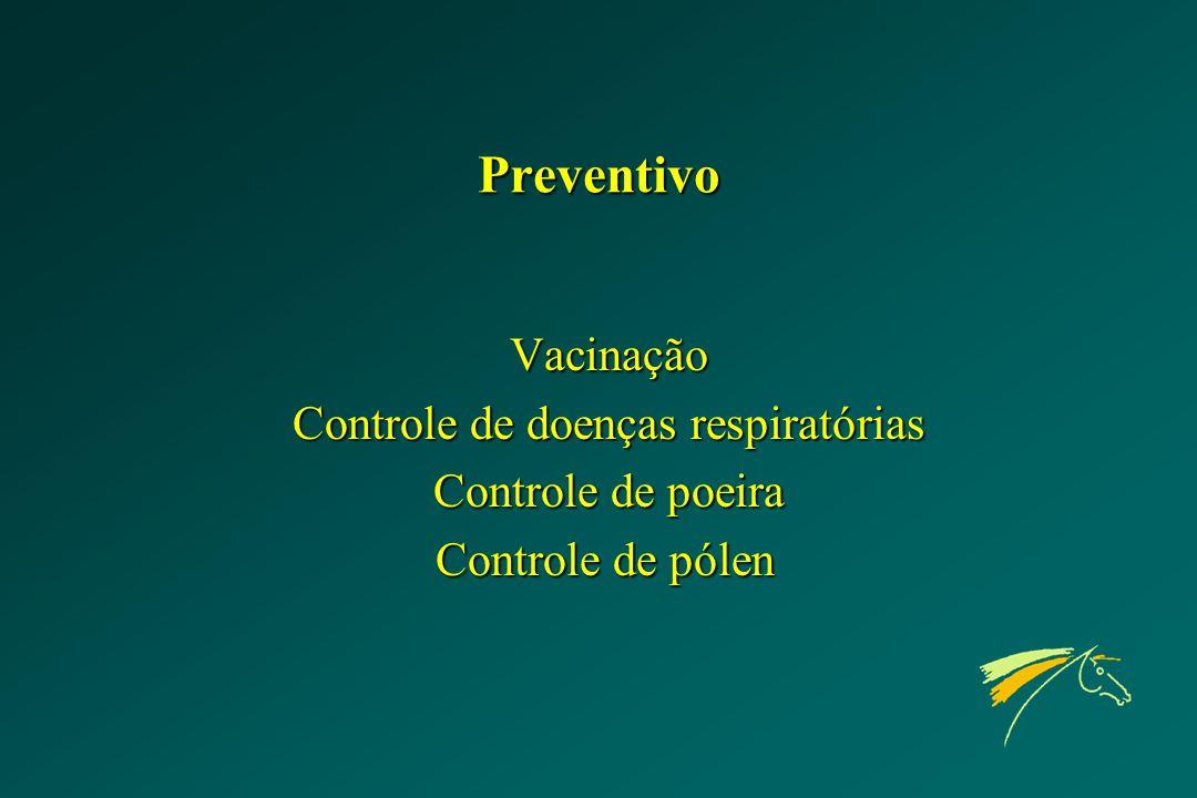 Controle de doenças respiratórias