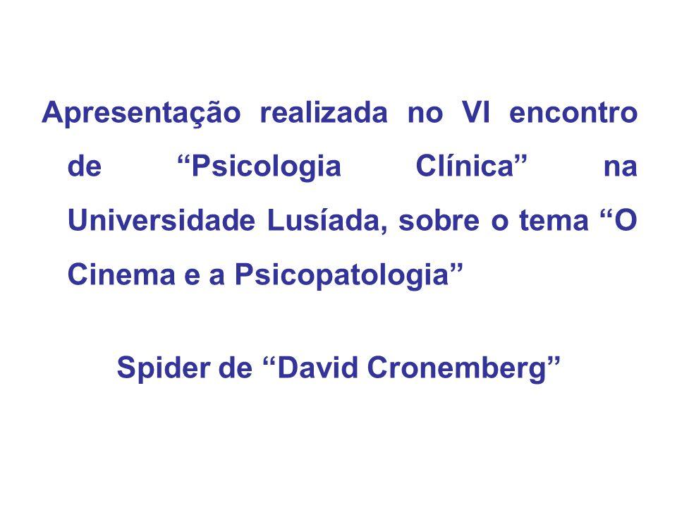 Spider de David Cronemberg