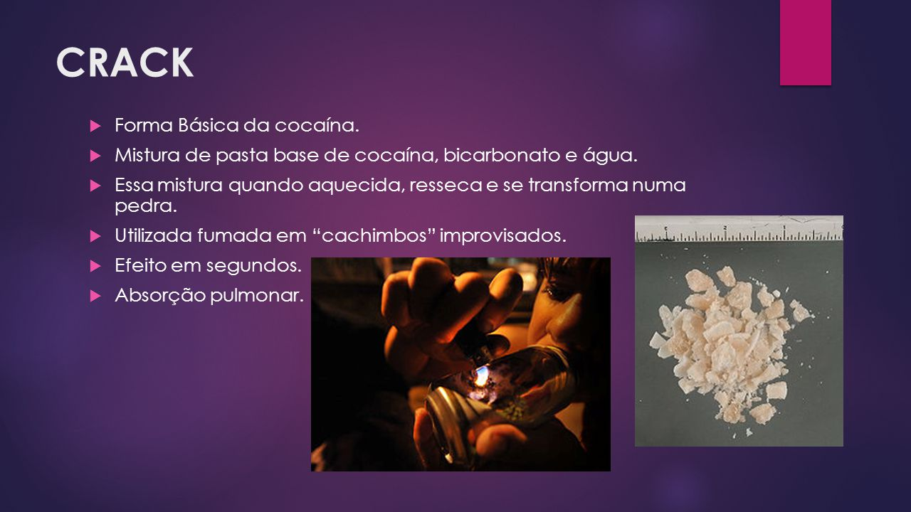 CRACK Forma Básica da cocaína.