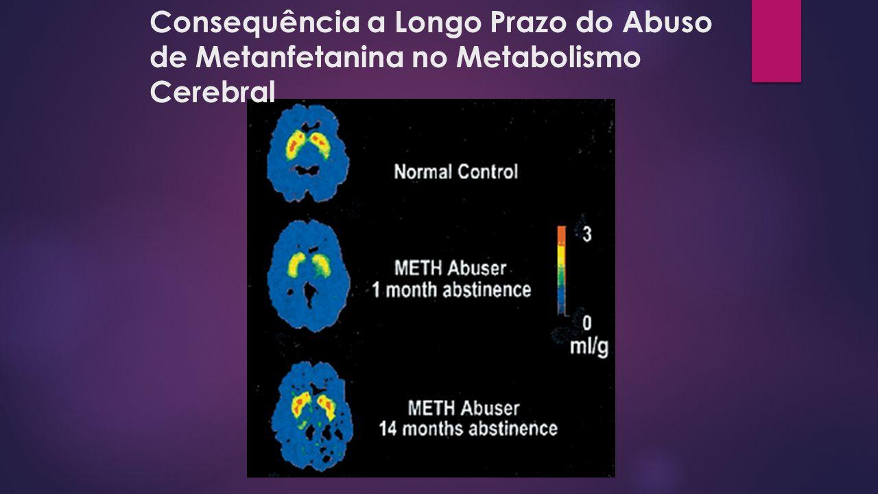 Consequência a Longo Prazo do Abuso de Metanfetanina no Metabolismo Cerebral