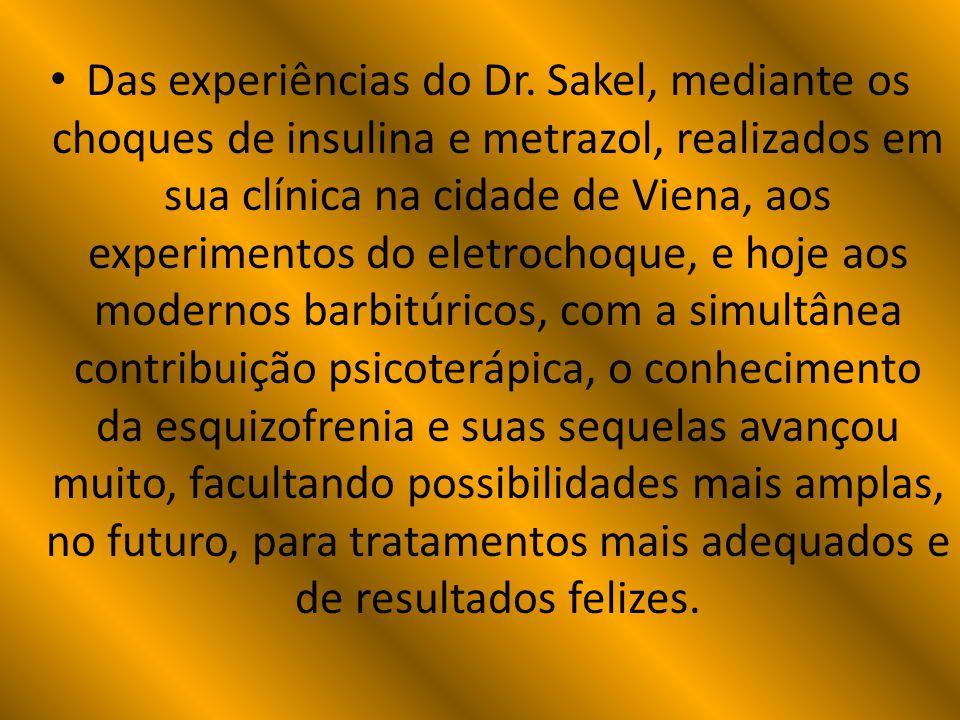 Das experiências do Dr.