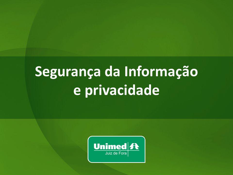 Segurança da Informação e privacidade