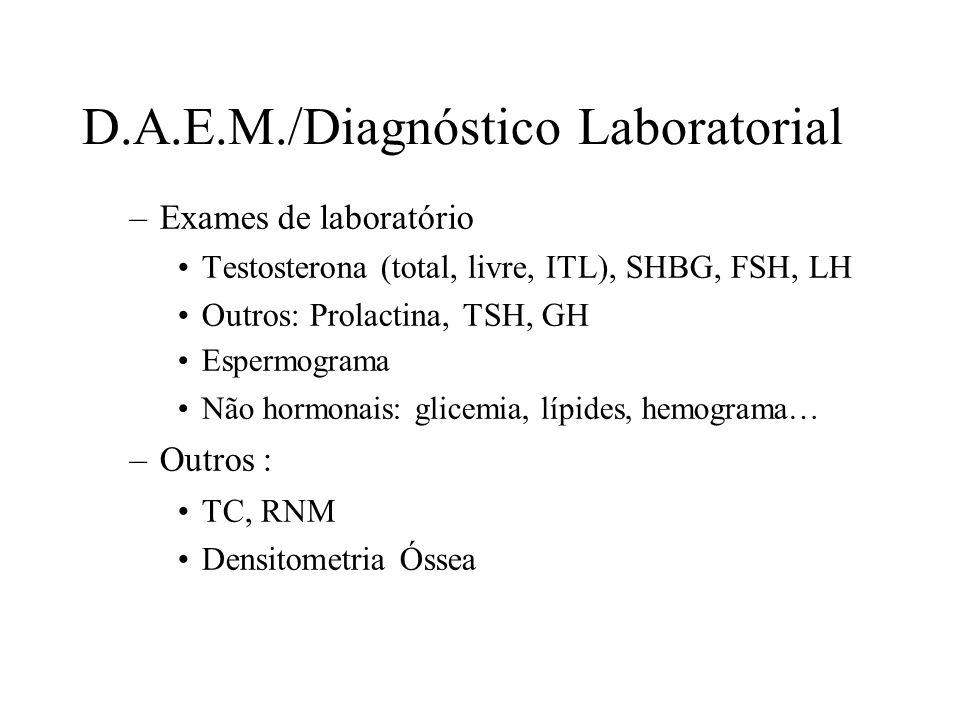 D.A.E.M./Diagnóstico Laboratorial