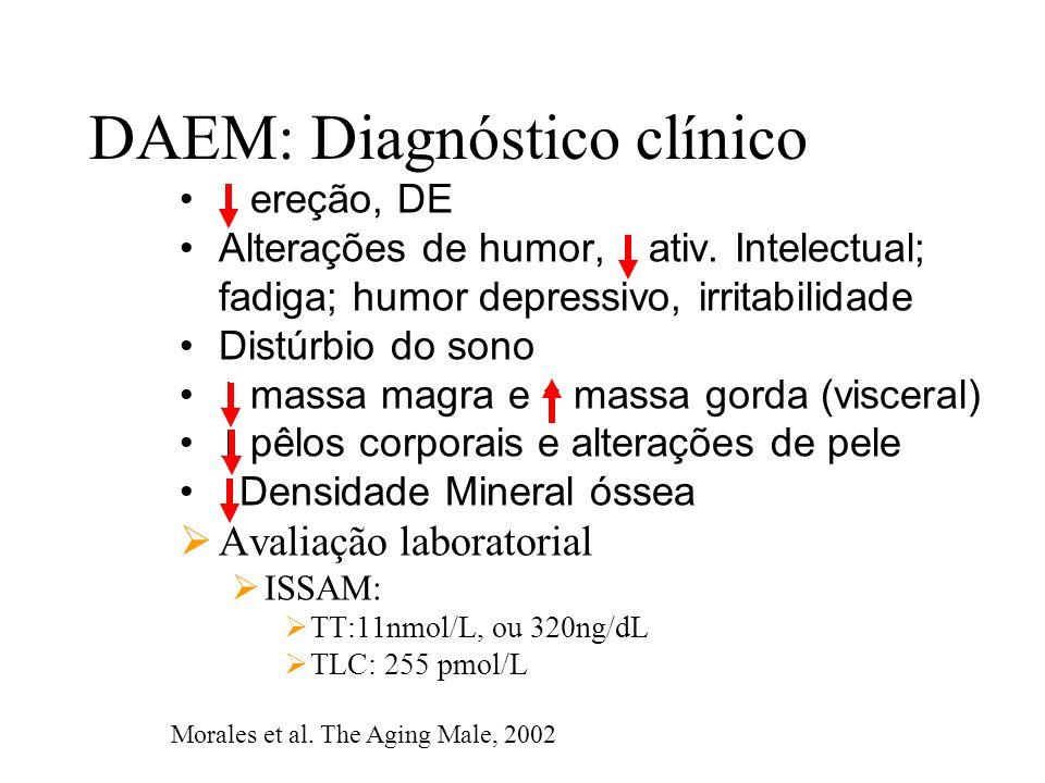 DAEM: Diagnóstico clínico
