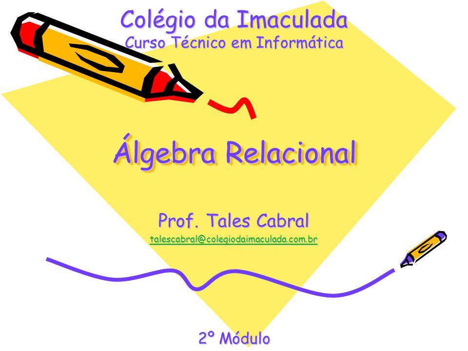 Prof. Tales Cabral talescabral@colegiodaimaculada.com.br