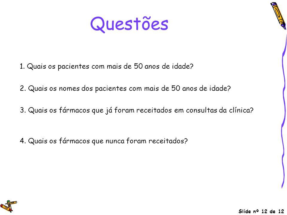 Questões sidade > 50 (pacientes)