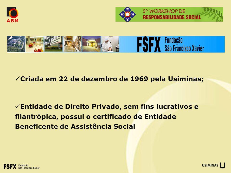 Criada em 22 de dezembro de 1969 pela Usiminas;