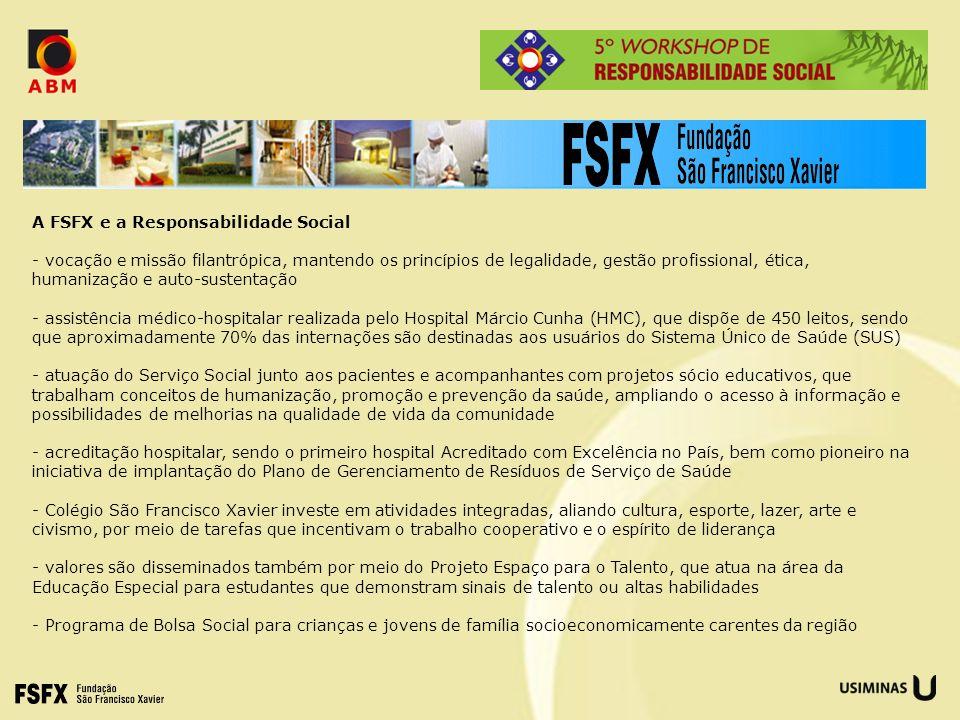 A FSFX e a Responsabilidade Social
