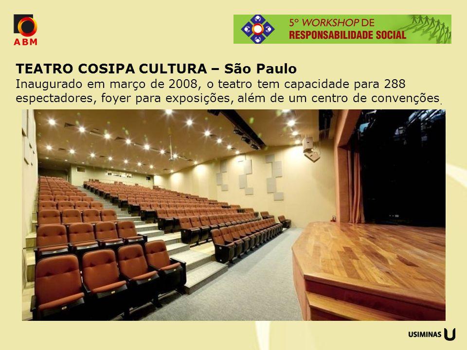 TEATRO COSIPA CULTURA – São Paulo