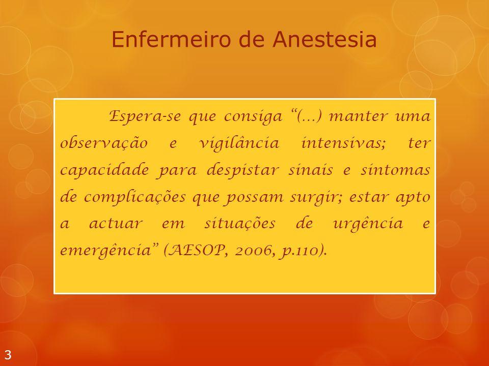 Enfermeiro de Anestesia