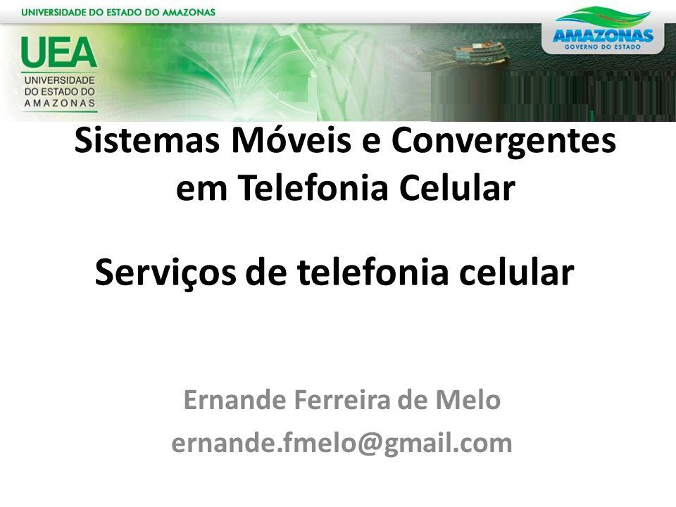 Serviços de telefonia celular