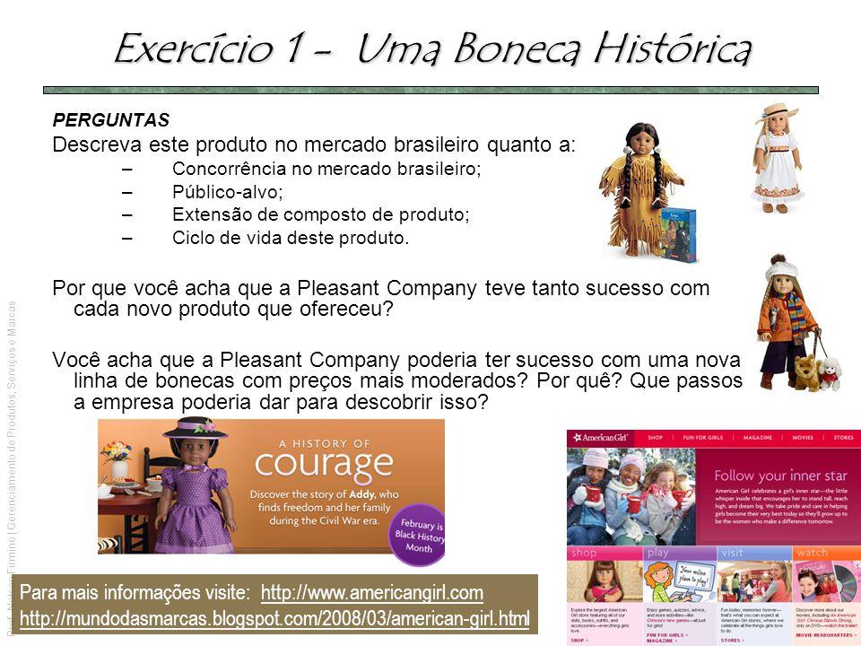 Exercício 1 - Uma Boneca Histórica