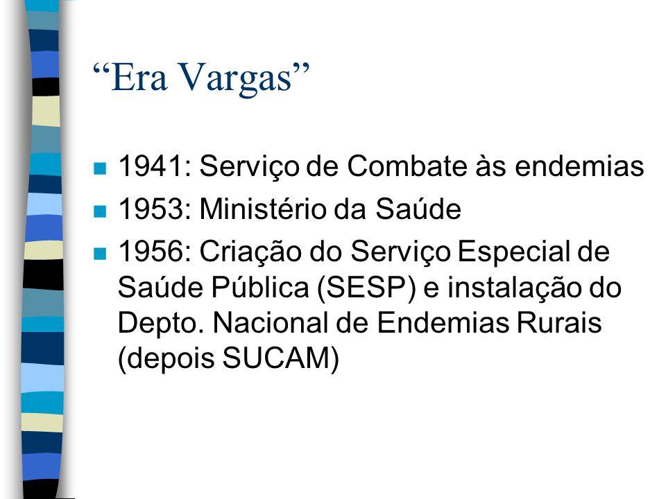 Era Vargas 1941: Serviço de Combate às endemias