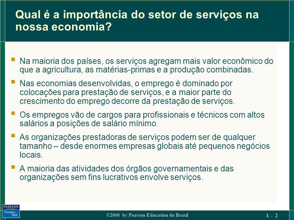 Qual é a importância do setor de serviços na nossa economia