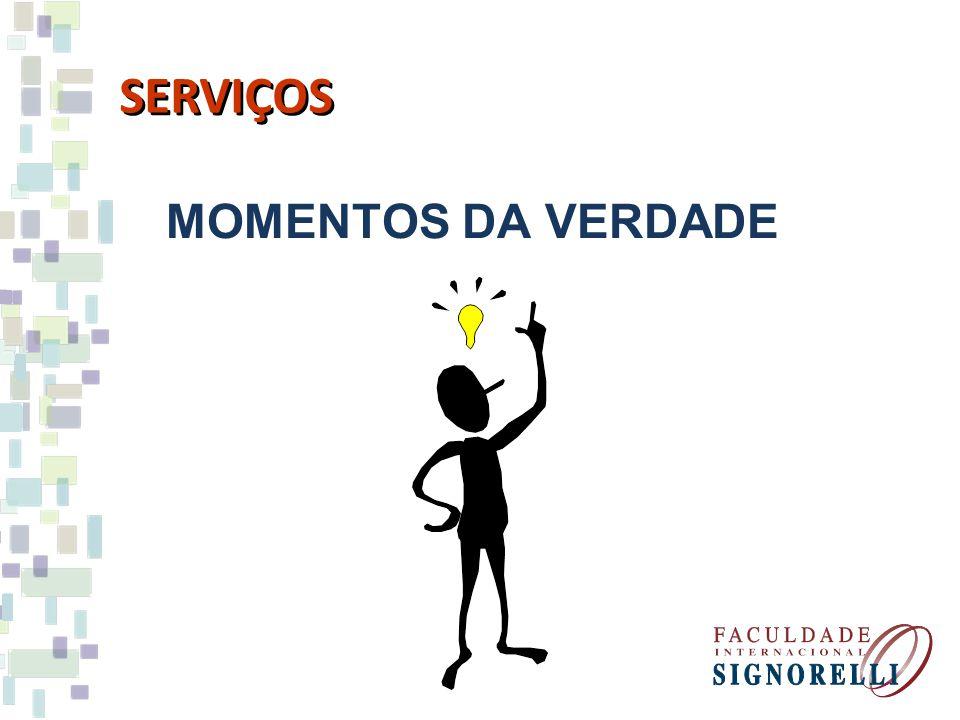 SERVIÇOS MOMENTOS DA VERDADE