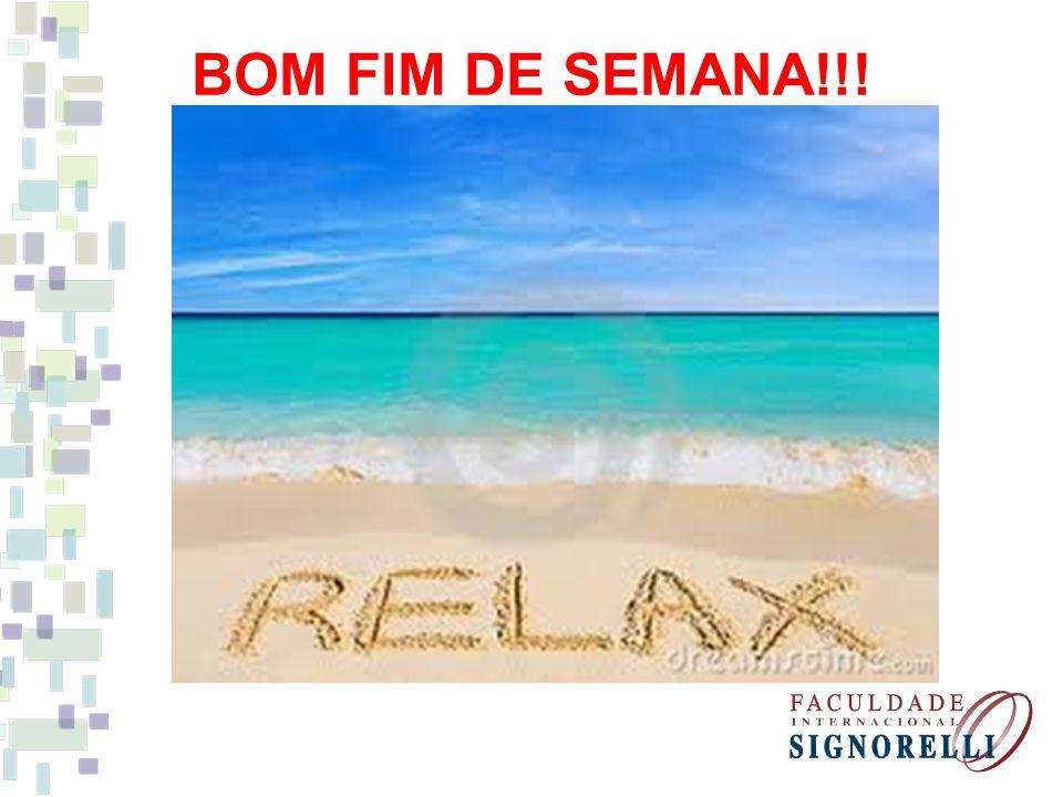 BOM FIM DE SEMANA!!! BOM FIM DE SEMANA!!!