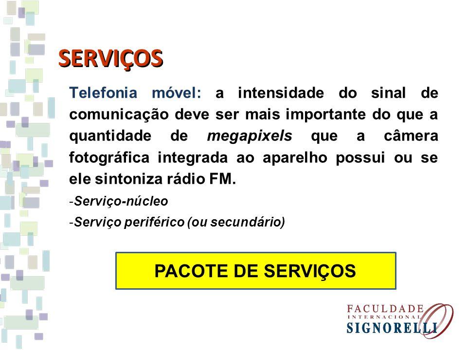 SERVIÇOS PACOTE DE SERVIÇOS
