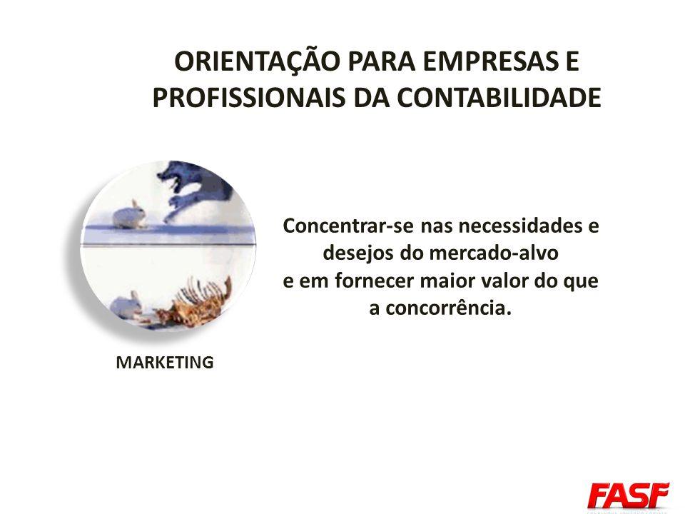 ORIENTAÇÃO PARA EMPRESAS E PROFISSIONAIS DA CONTABILIDADE