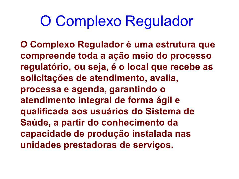 O Complexo Regulador