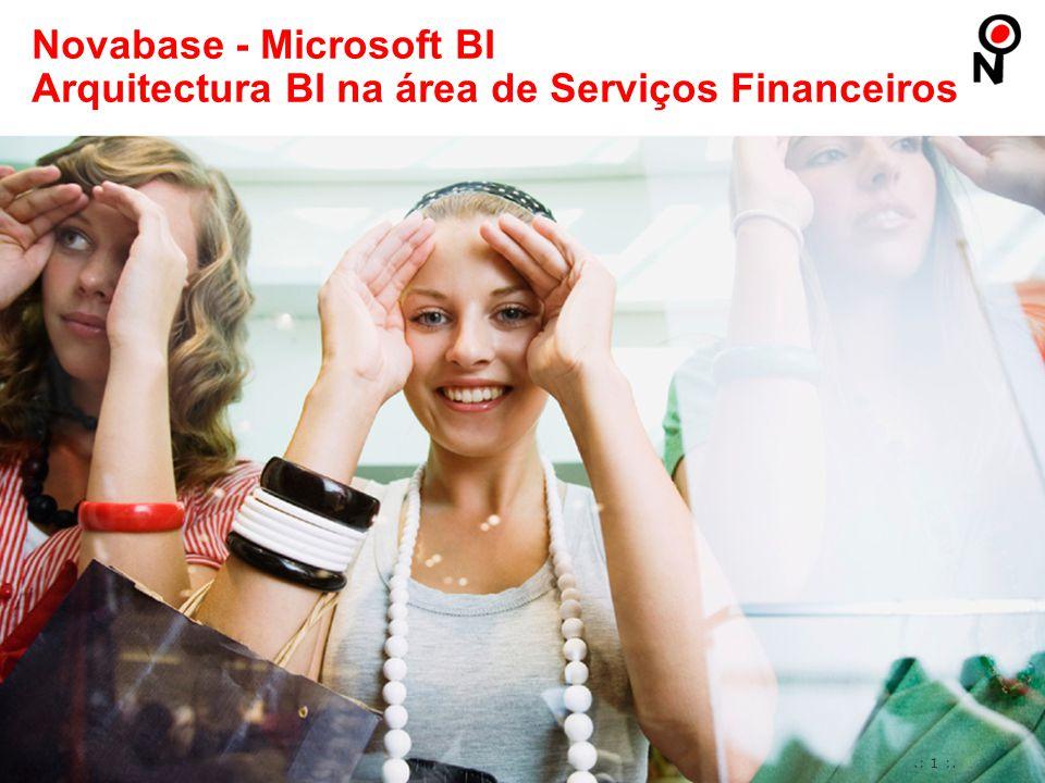 Novabase - Microsoft BI Arquitectura BI na área de Serviços Financeiros