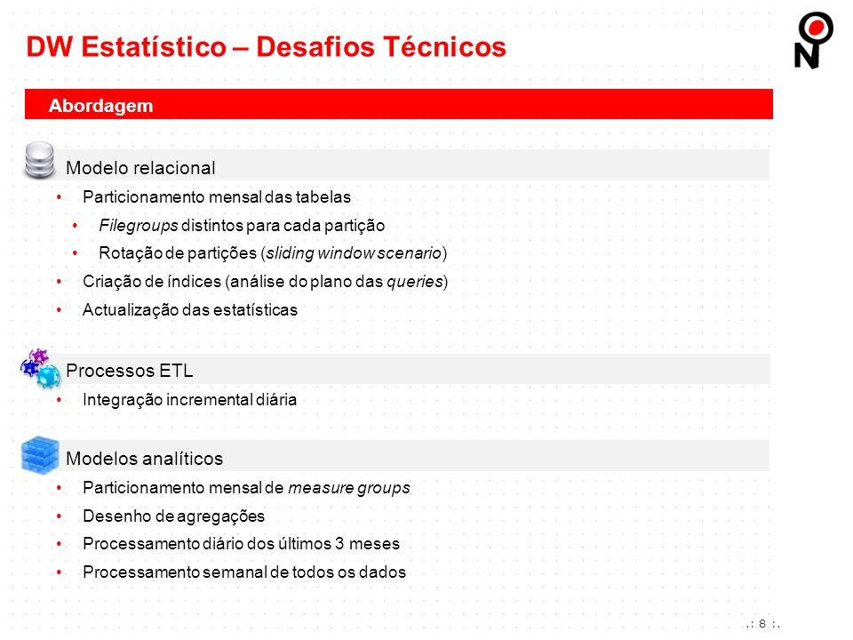 DW Estatístico – Desafios Técnicos