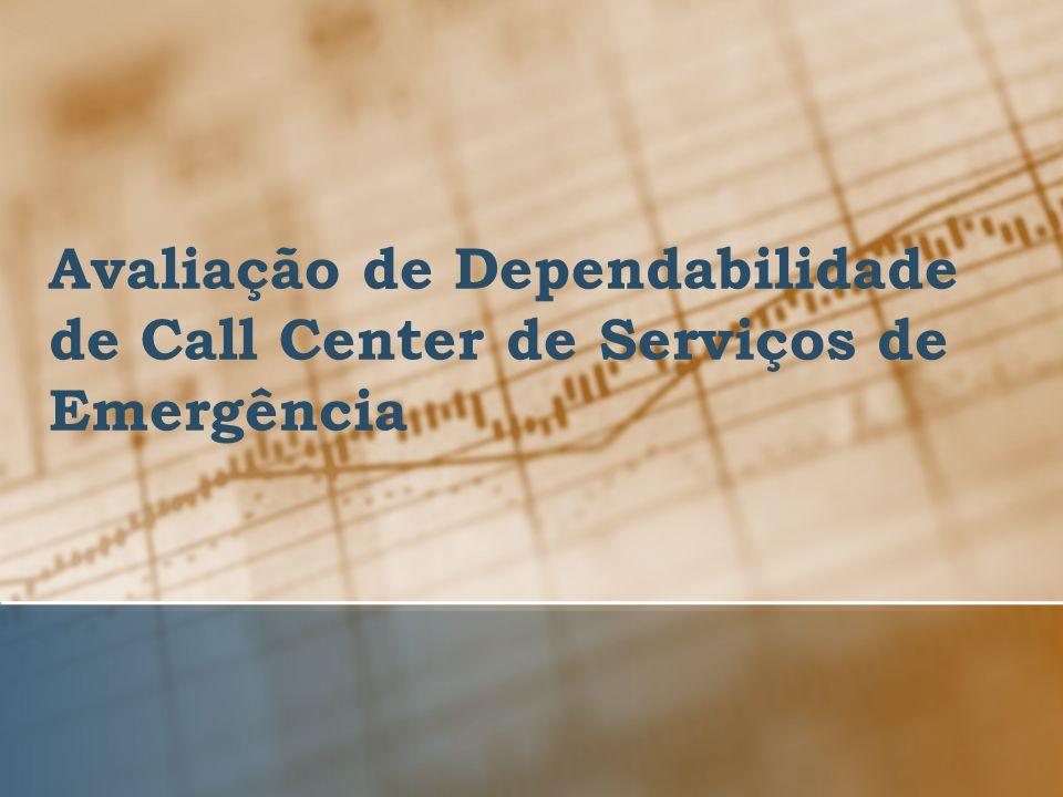 Avaliação de Dependabilidade de Call Center de Serviços de Emergência