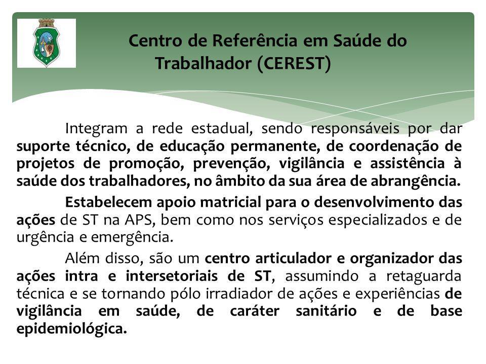 Centro de Referência em Saúde do Trabalhador (CEREST)