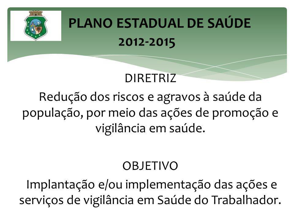 PLANO ESTADUAL DE SAÚDE 2012-2015