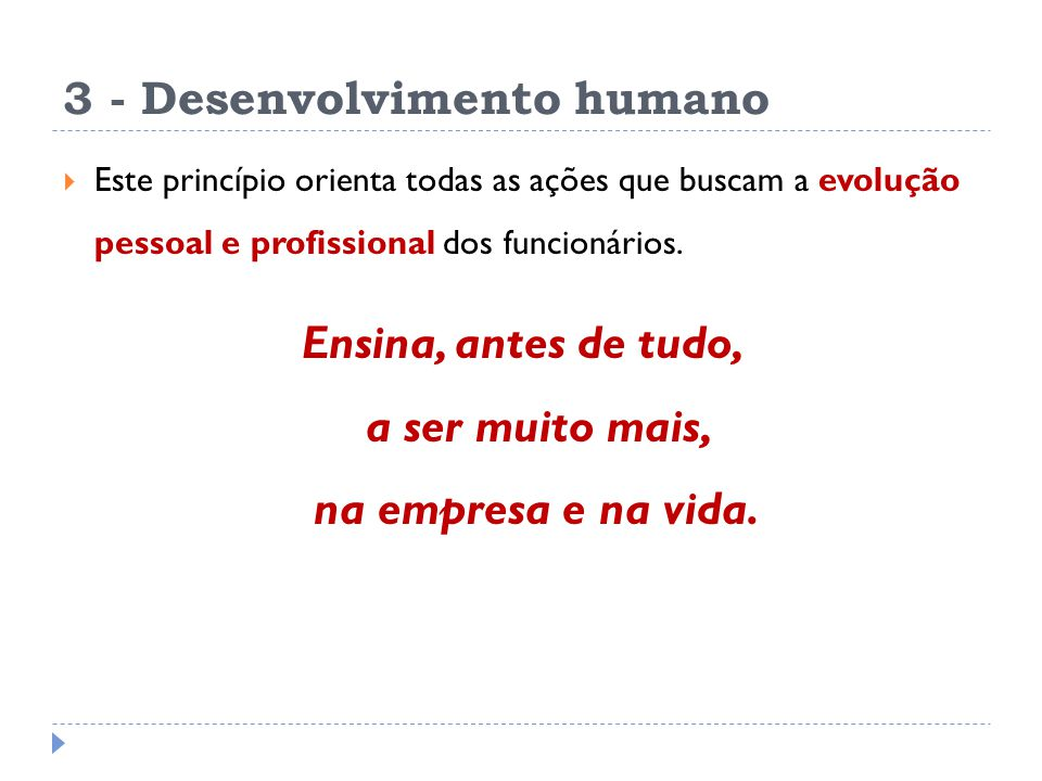 3 - Desenvolvimento humano