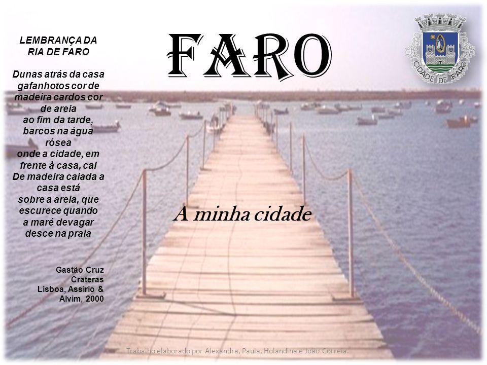 Faro A minha cidade LEMBRANÇA DA RIA DE FARO Dunas atrás da casa