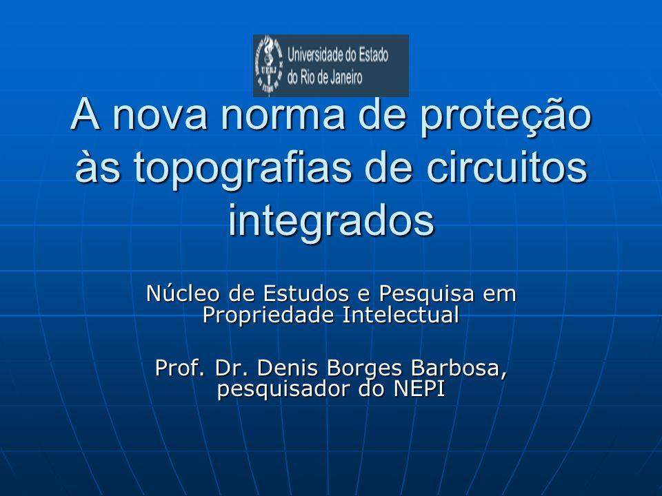 A nova norma de proteção às topografias de circuitos integrados