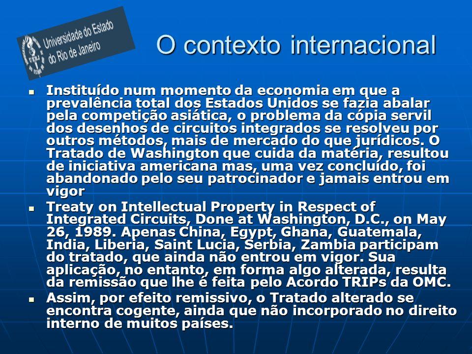 O contexto internacional