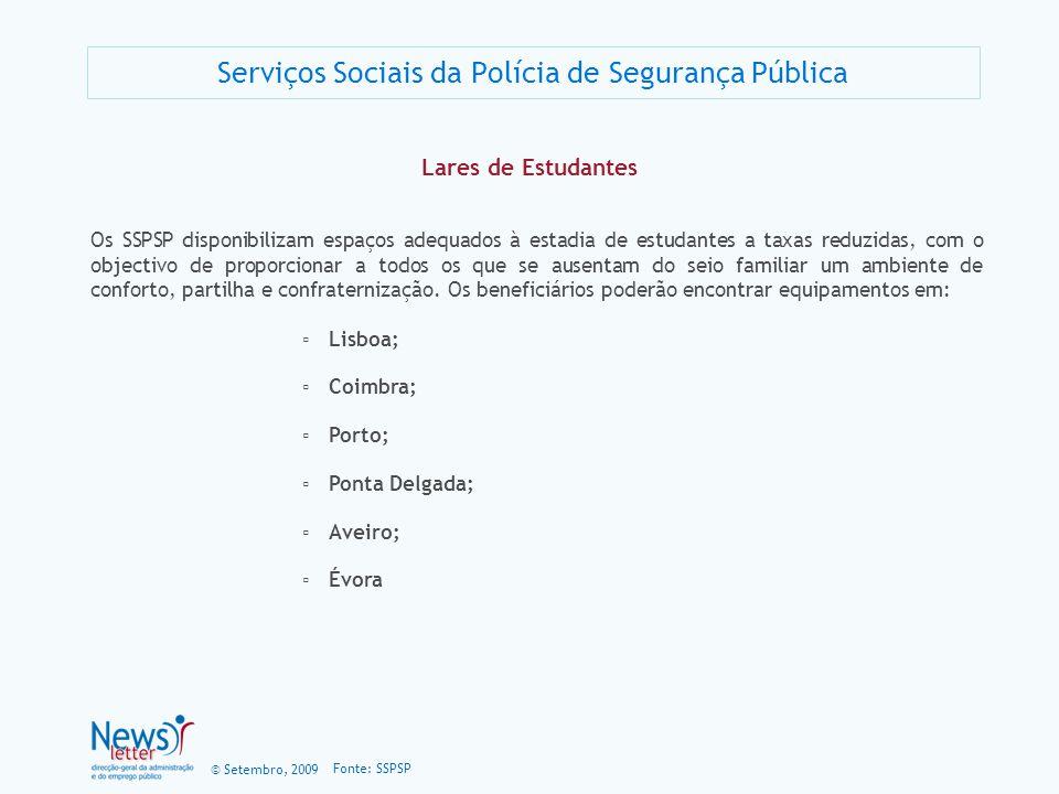 Serviços Sociais da Polícia de Segurança Pública