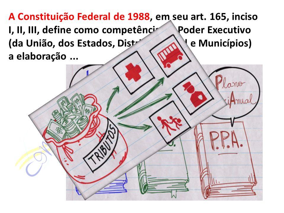 A Constituição Federal de 1988, em seu art