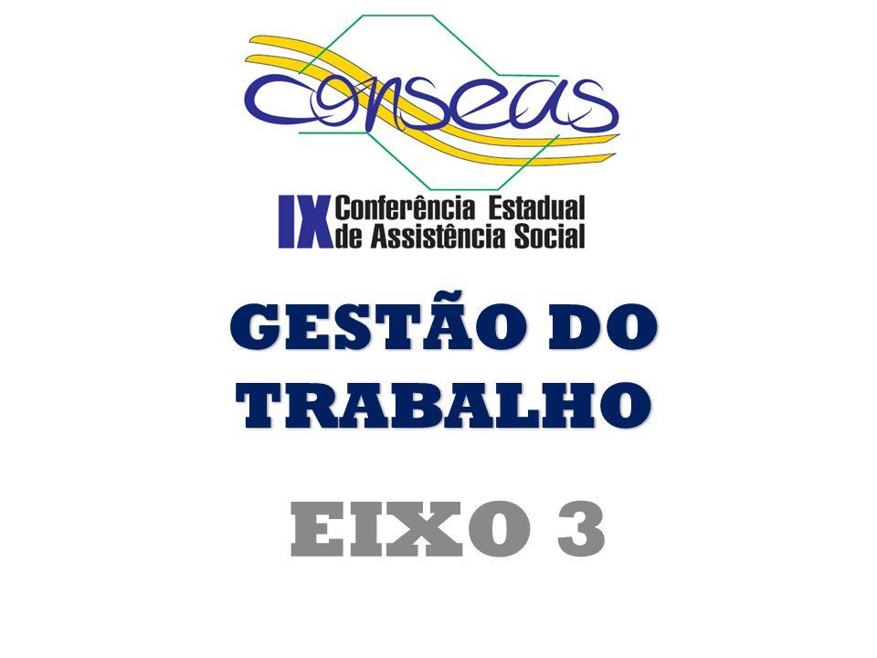 GESTÃO DO TRABALHO EIXO 3