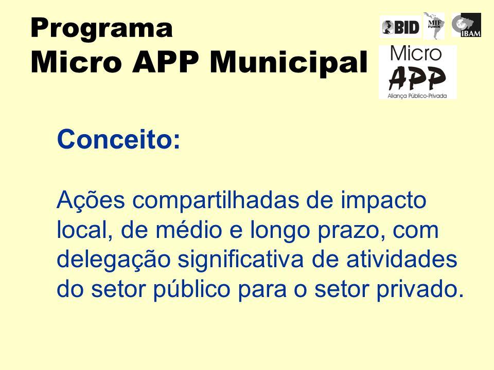 Programa Micro APP Municipal