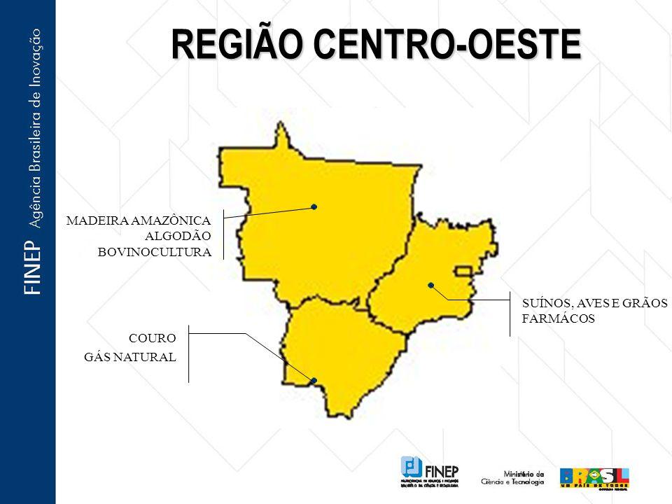 REGIÃO CENTRO-OESTE MADEIRA AMAZÔNICA ALGODÃO BOVINOCULTURA